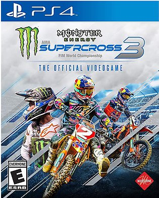 PlayStation 4 Monster Energy Supercross The Official Videogame 3