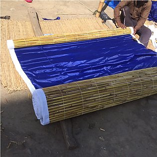 Wooden Shed Curtain L10 x H15 ft Chikh Tarpaal Parda Water and Heat for Cover...
