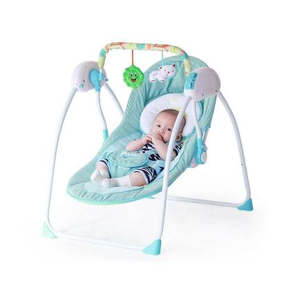 Reclining Chairs Baby Bouncer Soothing Vibration Baby Rocking Chair Newborn Multi-Function Portable Folding Music Electric Swing Baby Appease Shake Chair Baby Cradle
