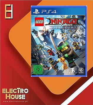 PLAYSTATION 4 DVD The Ninjago Movie Video game PS4 GAME