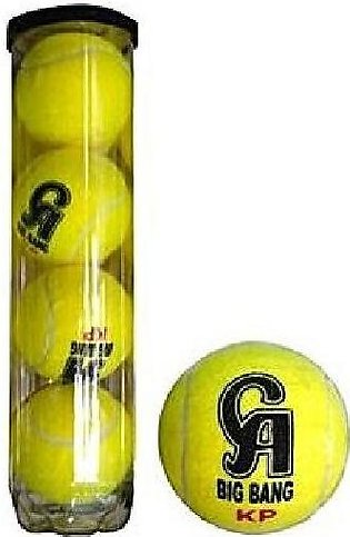 CA Sports Orignal Cricket/Tennis Balls Pack of 4