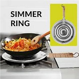 Simmer Ring - Heat Diffuser Stove Pan - Gas Electric Slow Cook Ring