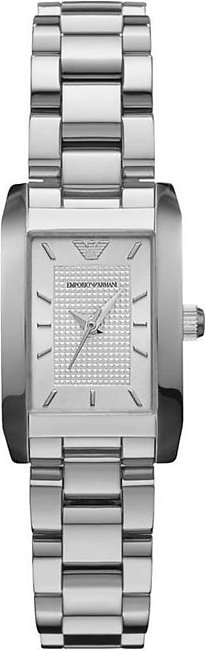 Emporio Armani Analog Silver Dial Watch for Women- AR0359