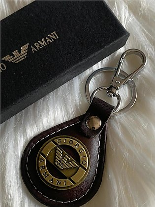 Leather Keychain For Boys With Spectical Box