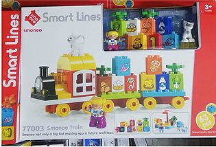 Smart Lines Train Toy With Large Parts