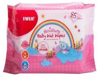 Farlin Moisture Baby Wipes 85 Pieces Anti Rash (DT-006A)