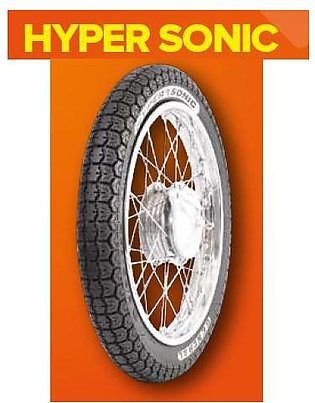 General Tyre Hyper Sonic Back/Rear Tyre and Tube for 125CC Motor Bikes