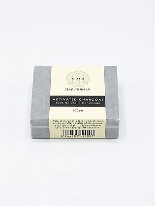 Aura Activated Charcoal Soap 100g