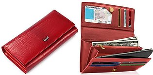 Women Wallet Purses leather Ladies clutch Purse imported quality
