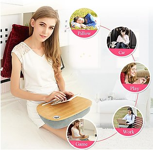 Multifunctional Lap Laptop Pillow Desk Tablet Notebook Table Stand Bed Sofa T...