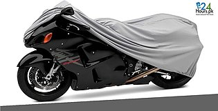 Motorcycle bike Parachute Top Cover Waterproof for 125cc 150cc  7ft x 5ft
