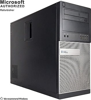 Dell OptiPlex 790 Desktop Tower  i3-2100 3.10GHz 2GB DDR3 RAM 320GB HD DVD-RW...