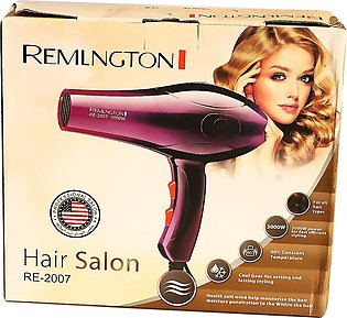 HAIR DRYER REMLNGTON RE-2007Professional Hair Dryer Heavy Duty For Unisex