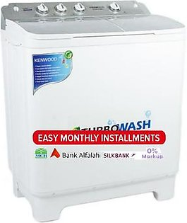 Kenwood - 10 kg -Semi Automatic Washing Machine -KWM-1012 - White