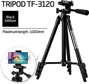 3120 Tripod Camera and Mobile Stand with Holder For Camera and Mobile