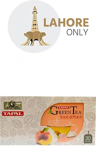Tapal Green Tea Tropical Peach 30 Tea Bags