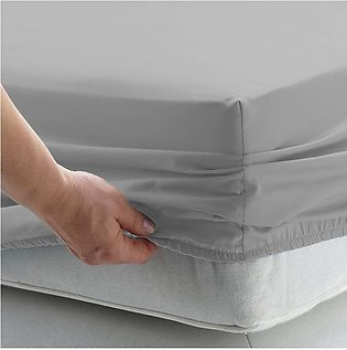 Double Bed Fitted Sheet (4 Corner Elastic band)