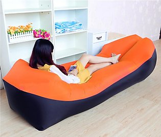 Portable Camping Beach Air Sofa Outdoor Fast  Inflatable Waterproof  Sofa  Bed …