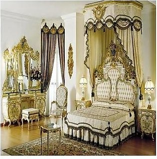 French style royal bedroom furniture