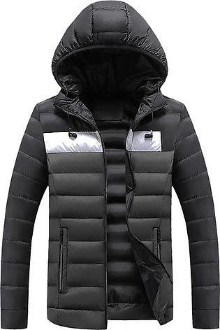 Men Winter Hooded Softshell for Windproof and Waterproof Soft Coat Shell Jacket