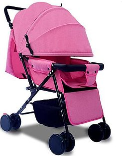 Goglor Lightweight stroller can sit reclining folding space big four-wheeled stroller Baby Cart Super Light Portable and Can Lie in Four Wheeled