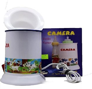 Multipurpose Baby Feeder Warmer / Egg Boiler/ Steamer -Camera White