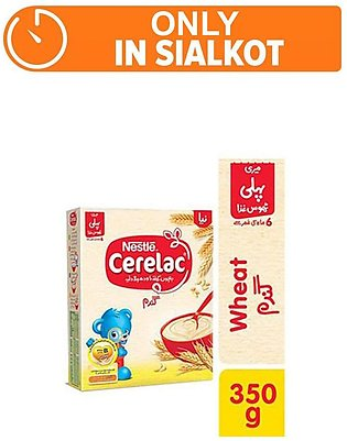 Nestle CERELAC Wheat 350g - Baby Food (One day delivery in Sialkot)