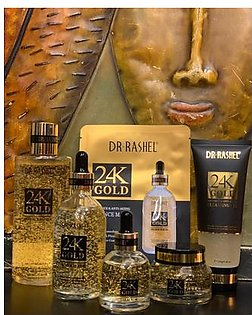 Dr Rashel 24K Series (Toner / Primer / Eye Serum / Cleansing Gel)