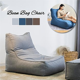 Large Bean Bag Chair Cover Lounger Animal Highback Adult Gaming Sofa Slipcover