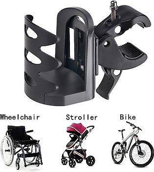 The old tree Adjustable Cup Holder for Walker, Wheelchair, Rollator, Bicylce ...