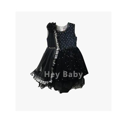 Baby fancy Ferry Velvet Frock