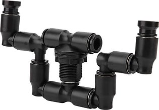 Reptiles Fogger Mist Sprinkler Double Head 360° Atomization Cooling Reptile Mis…