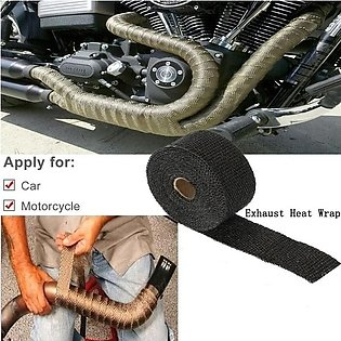 Motorbike Exhaust Heat Protection Roll Tape Wrap