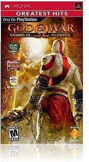 God of War Chains of Olympus - PSP
