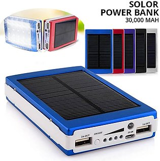 30,000 MAH Solar Power Bank
