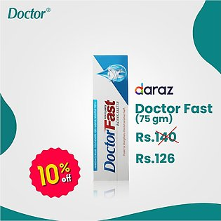 Doctor Fast Toothpaste - 75 Gms