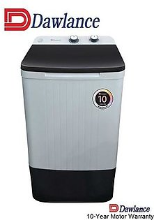 Dawlance DW 9100C - Washing Machine - Semi Automatic – White