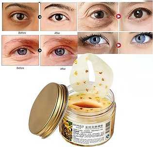 Eye Skin Care Golden Collagen Eye Mask Anti-Puffiness Dark Circle Moisturizing