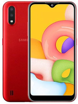 Samsung Galaxy A01 - Display 5.7  - Dual Back Camera 13+2 MP - 5 MP Selfi Cam...