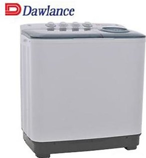 Dawlance DW-140C2) Semi Automatic 6.5 KG Twin Tub Washing Machine Powerful pulsation