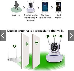 IP WIRELESS CAMERA 360 WITH 3 ANTENNA-1080P IP Camera Wireless Home Security IP…