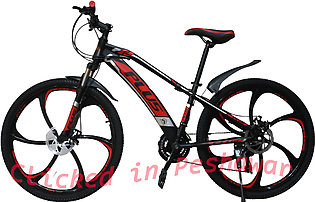 Plus Star Rim Bicycle Red 26 inch