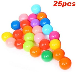 Colorful Ball Soft Plastic Ocean Ball funny Baby Kid Swim Pit Toy 50pcs