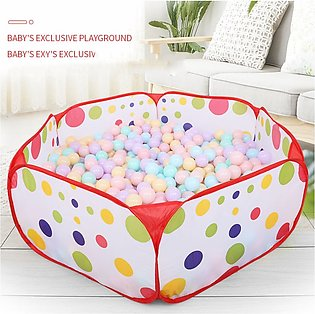 Polka Dot Pattern Foldable Kids Play House Tent Outdoor&Indoor Basketball Tent_…