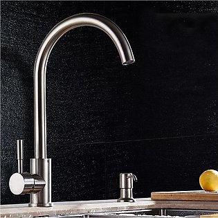 Stainless Steel Kitchen Sink Basin Mixer Swivel Water Tap Wash Faucet