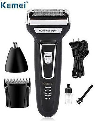 3 in 1 Kemei Electric Hair Clipper Trimmer Shaver KM - 6558