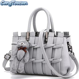 New Style PU Faux Leather Tote Shoulder Bag For Women - Handbags for Woman - ...
