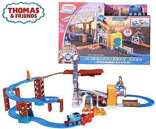 Thomas & Friends Anime Toy Electric Train Funny Toy Car Track For Children Le...
