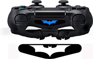 Creative Bat Stickers For Playstation 4 Game Controller Light Bar LED Decals