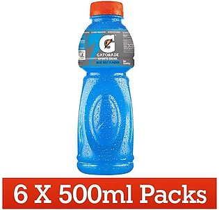 Gatorade blue 500ml x 6